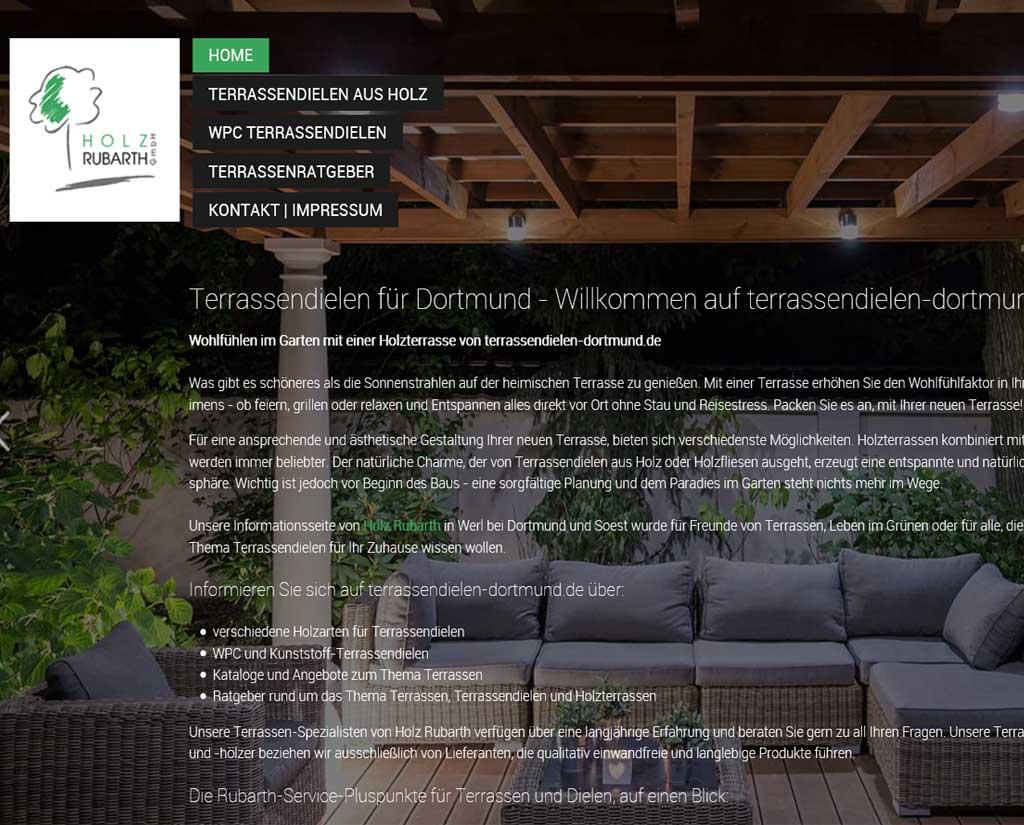 Terrassen len Holzterrassen und WPC kaufen in Dortmund